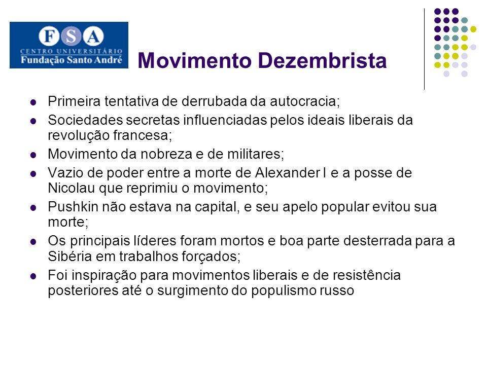 Movimento Dezembrista