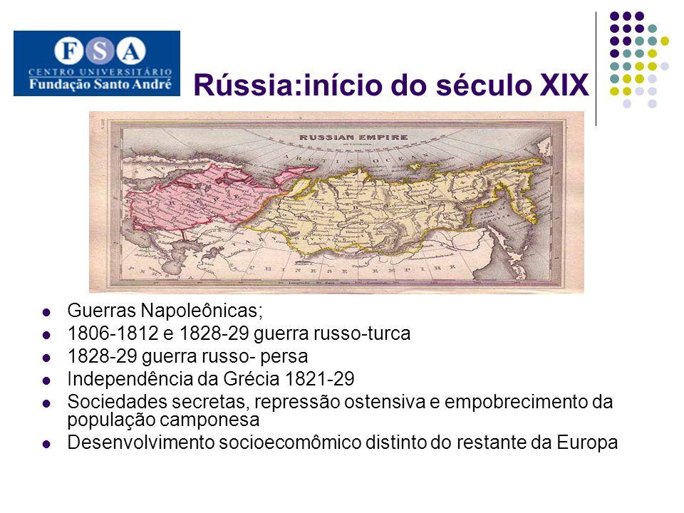 Rússia:início do século XIX