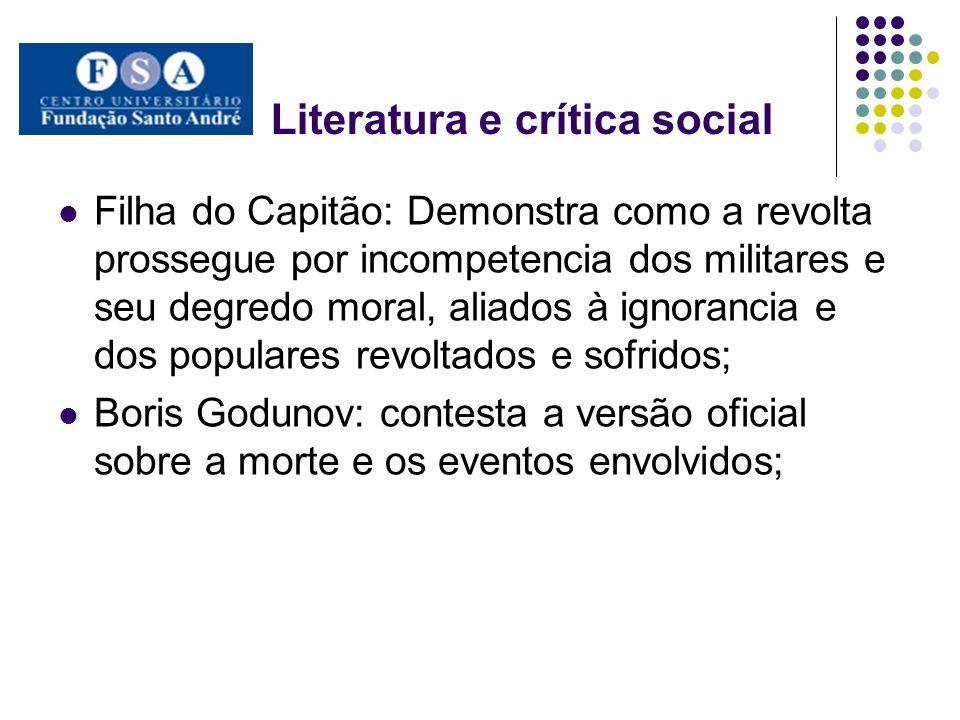 Literatura e crítica social