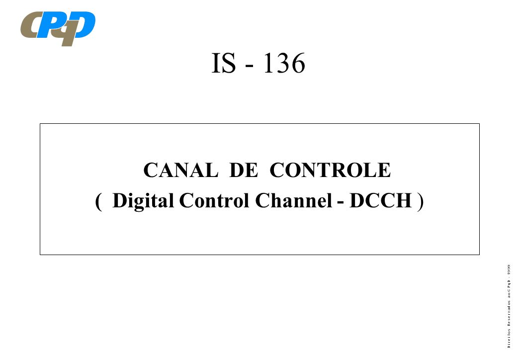 ( Digital Control Channel - DCCH )