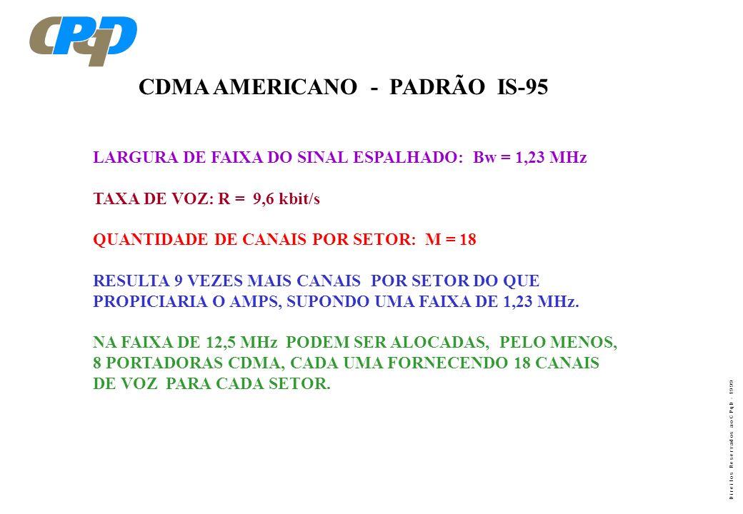 CDMA AMERICANO - PADRÃO IS-95