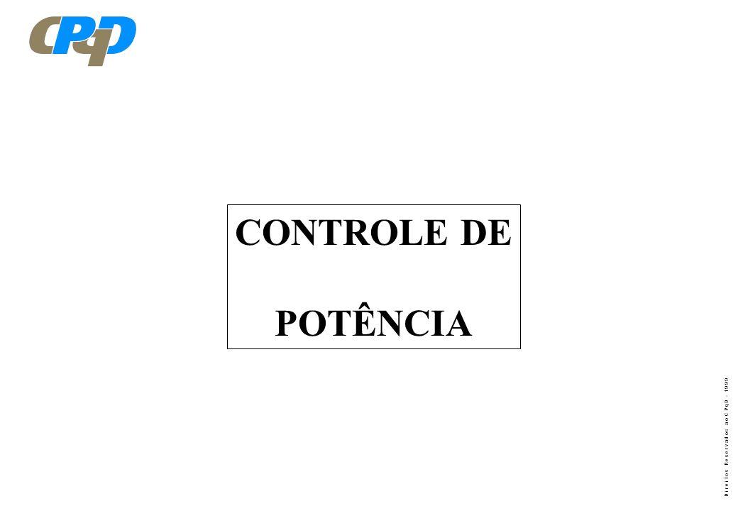 CONTROLE DE POTÊNCIA