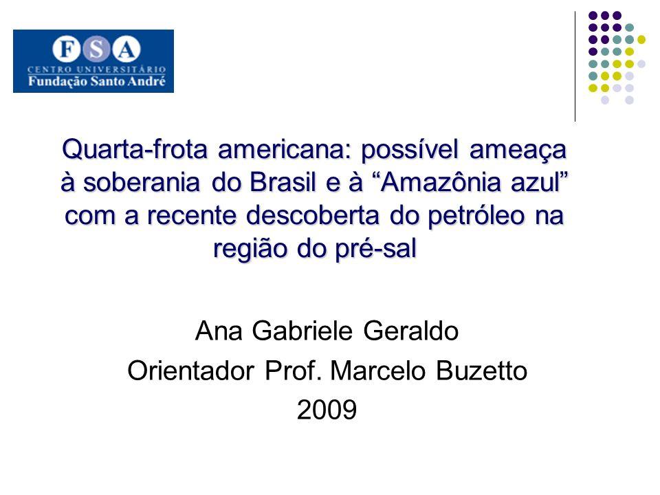 Ana Gabriele Geraldo Orientador Prof. Marcelo Buzetto 2009