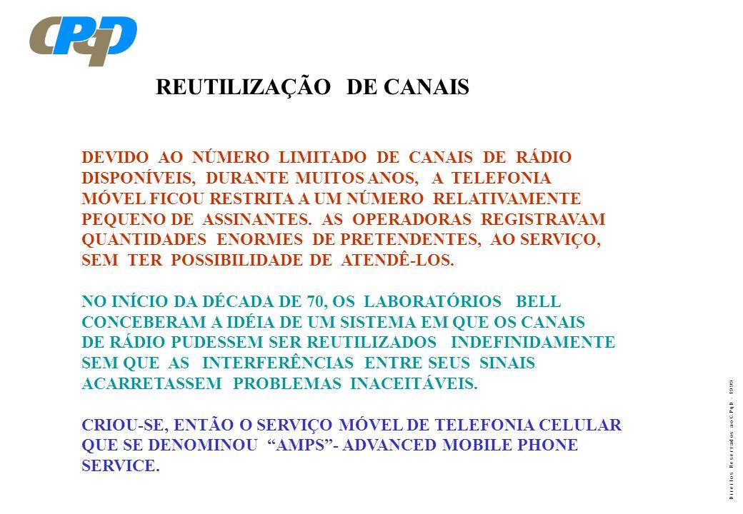 REUTILIZAÇÃO DE CANAIS
