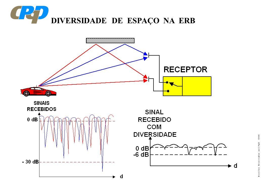 DIVERSIDADE DE ESPAÇO NA ERB