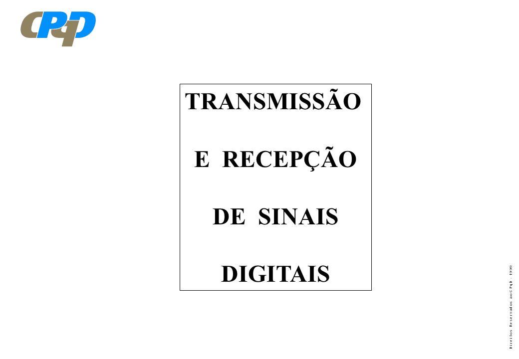 TRANSMISSÃO E RECEPÇÃO DE SINAIS DIGITAIS
