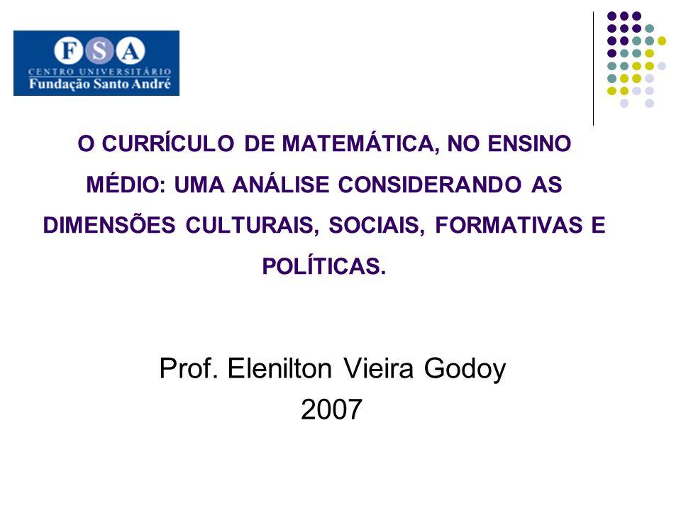 Prof. Elenilton Vieira Godoy 2007