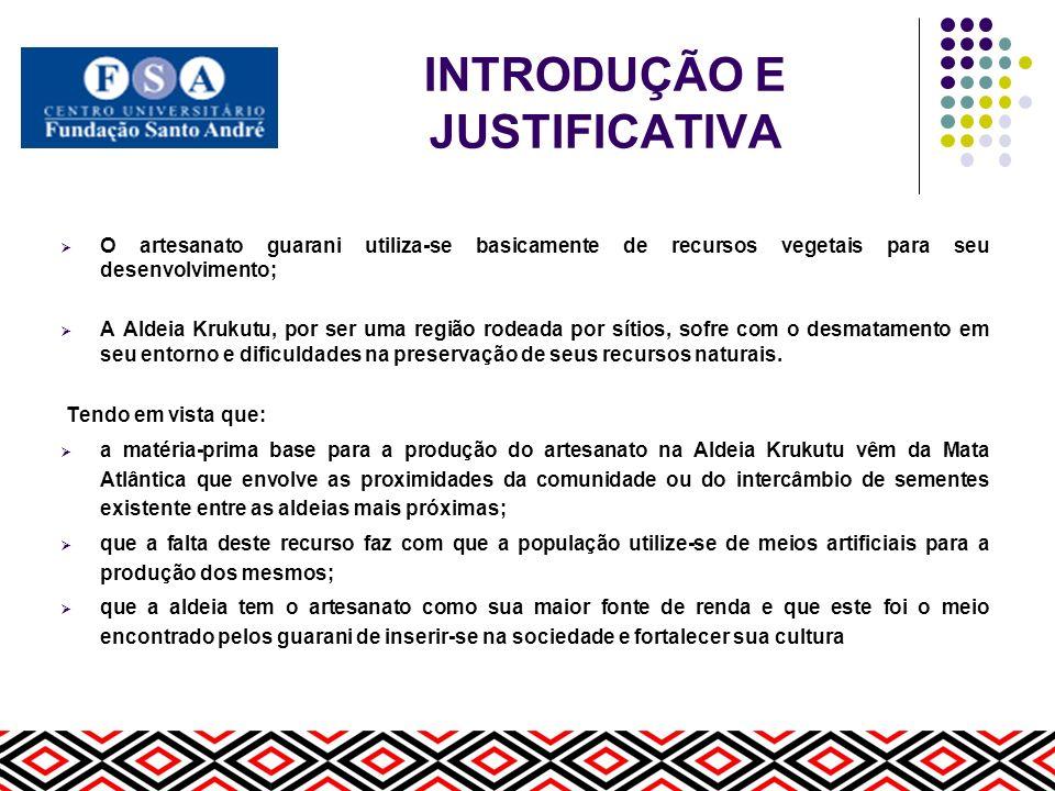 INTRODUÇÃO E JUSTIFICATIVA