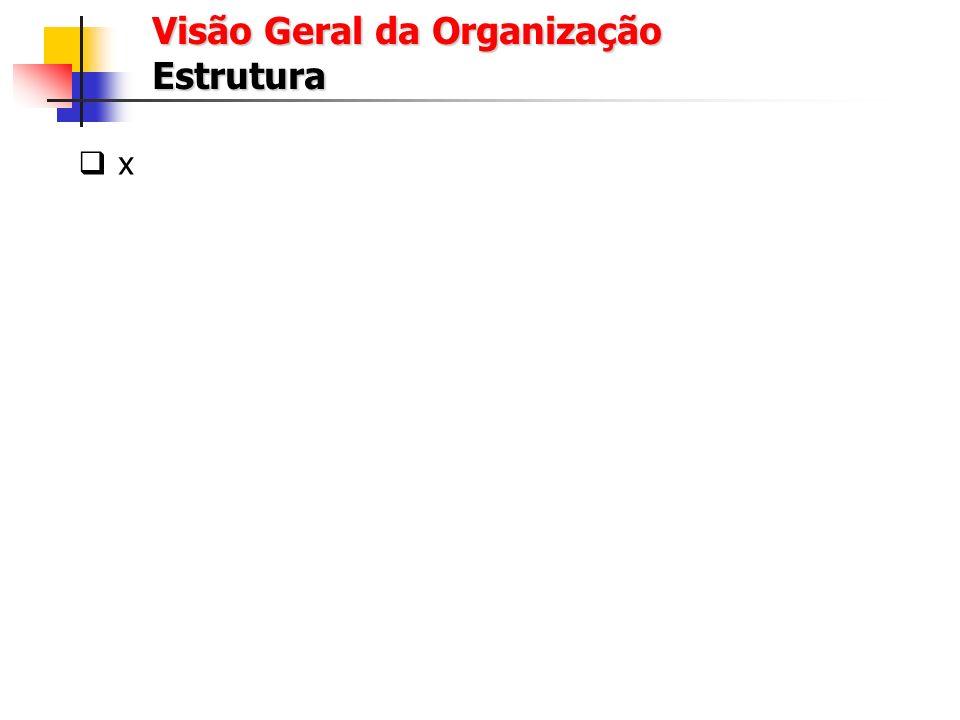 Visão Geral da Organização Estrutura