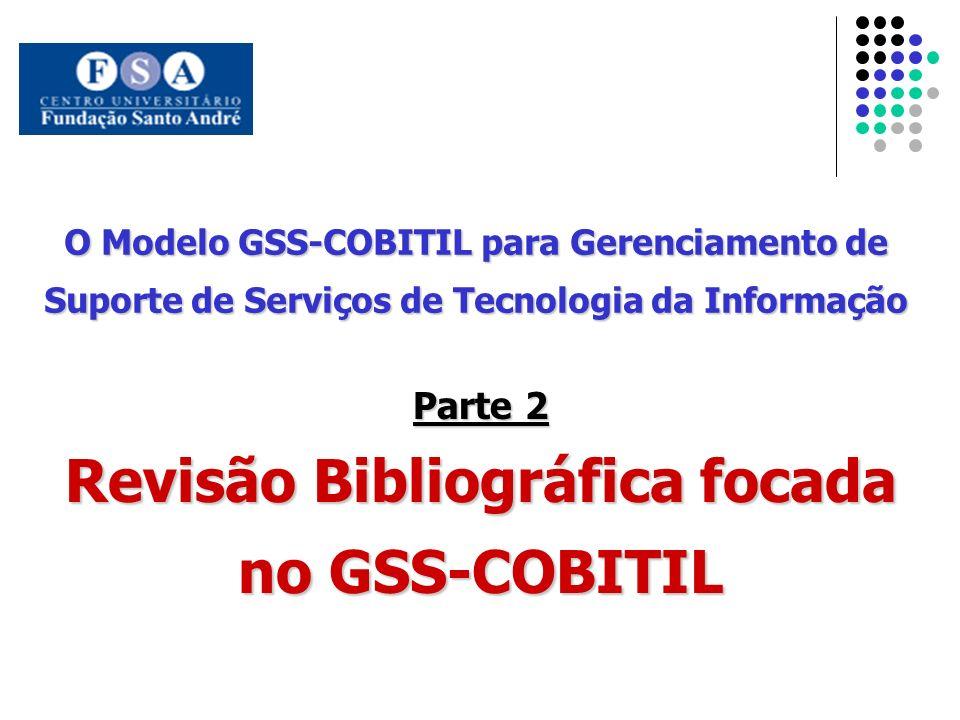 Revisão Bibliográfica focada no GSS-COBITIL