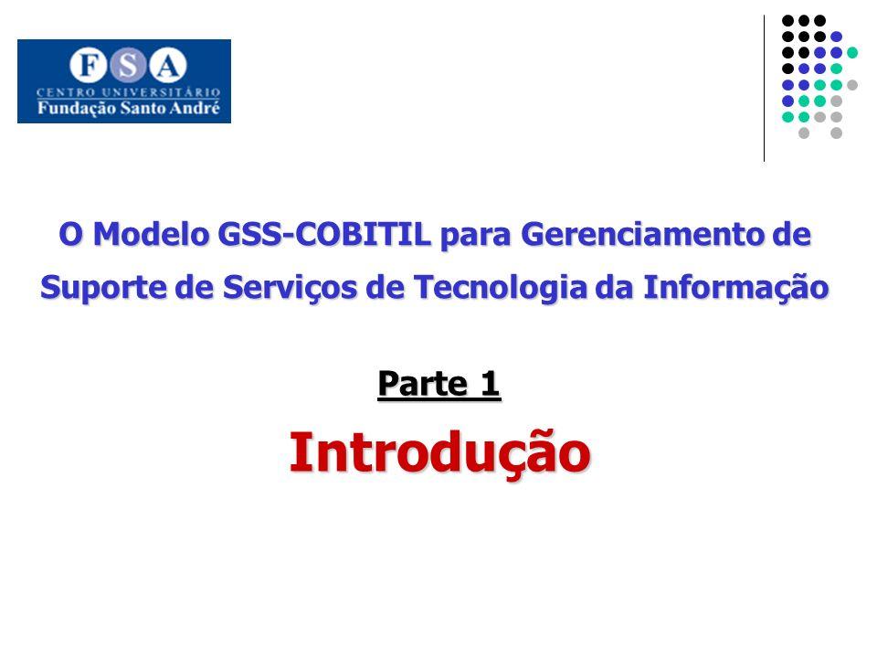 Introdução Parte 1 O Modelo GSS-COBITIL para Gerenciamento de