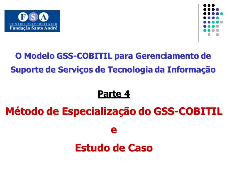 Método de Especialização do GSS-COBITIL e Estudo de Caso