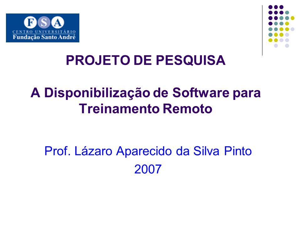 Prof. Lázaro Aparecido da Silva Pinto 2007