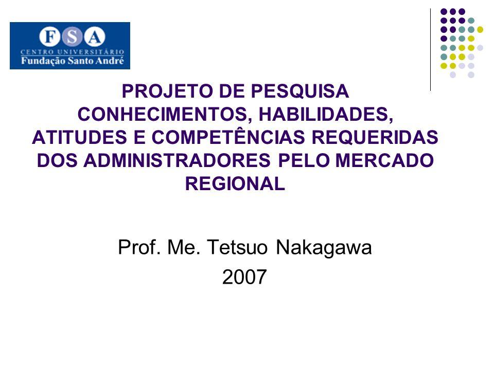 Prof. Me. Tetsuo Nakagawa 2007