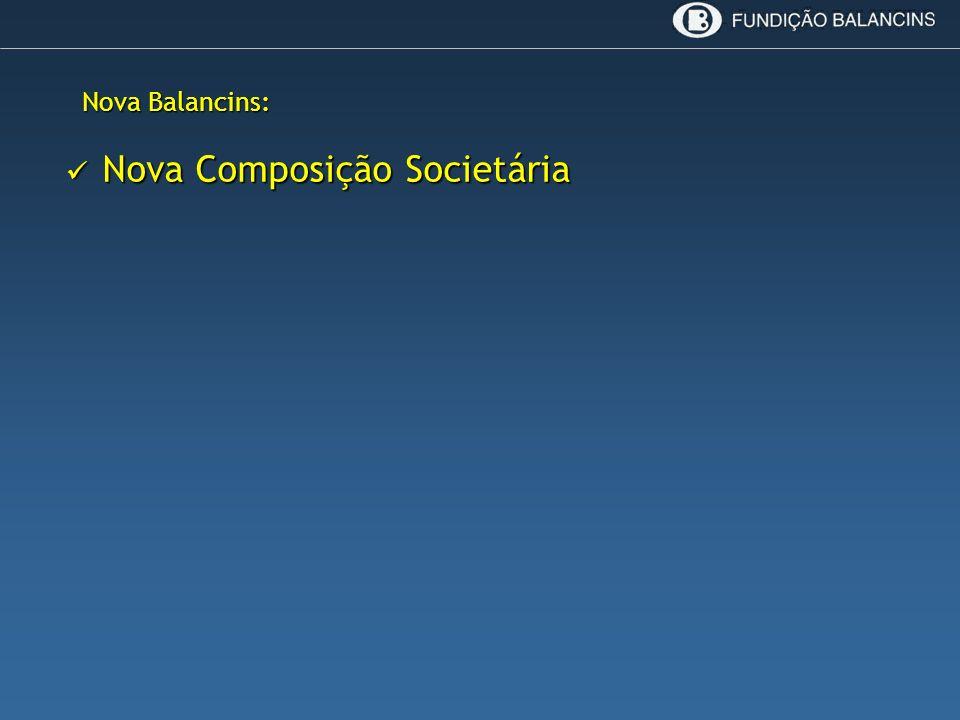 Nova Composição Societária