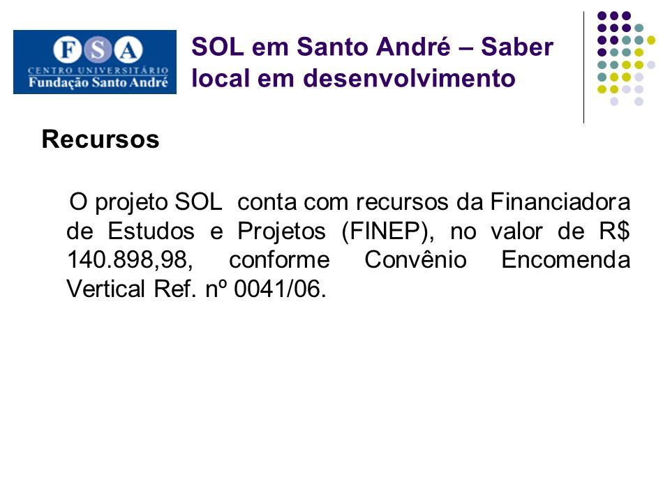 SOL em Santo André – Saber local em desenvolvimento