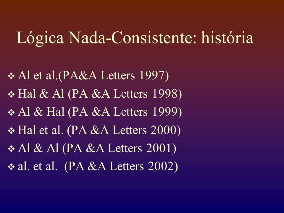 Lógica Nada-Consistente: história