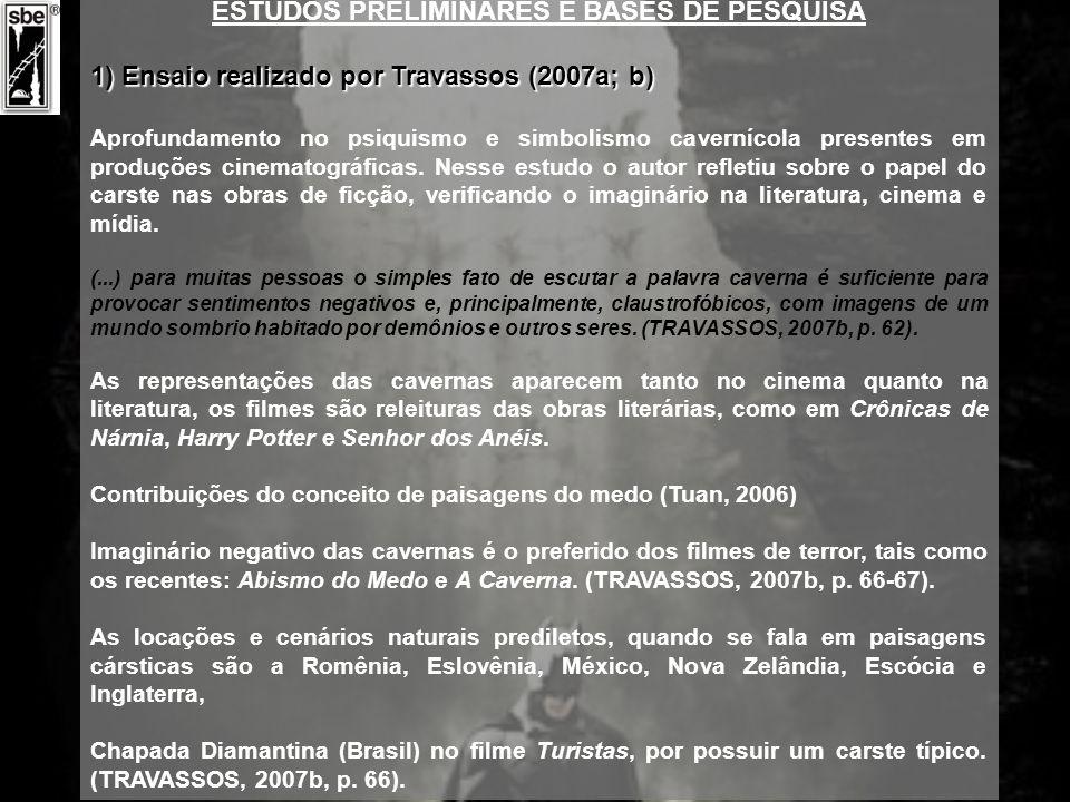 ESTUDOS PRELIMINARES E BASES DE PESQUISA