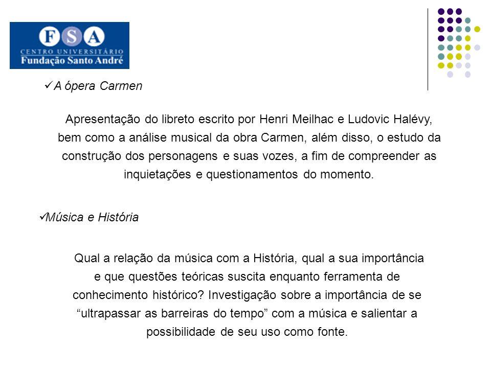 A ópera Carmen