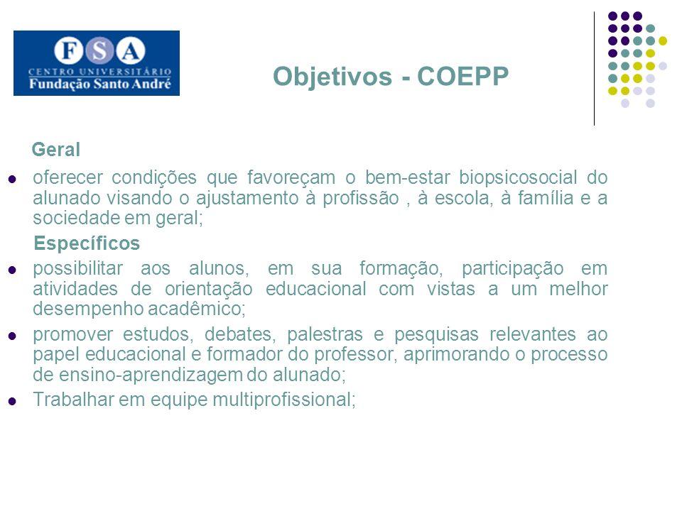 Geral Objetivos - COEPP
