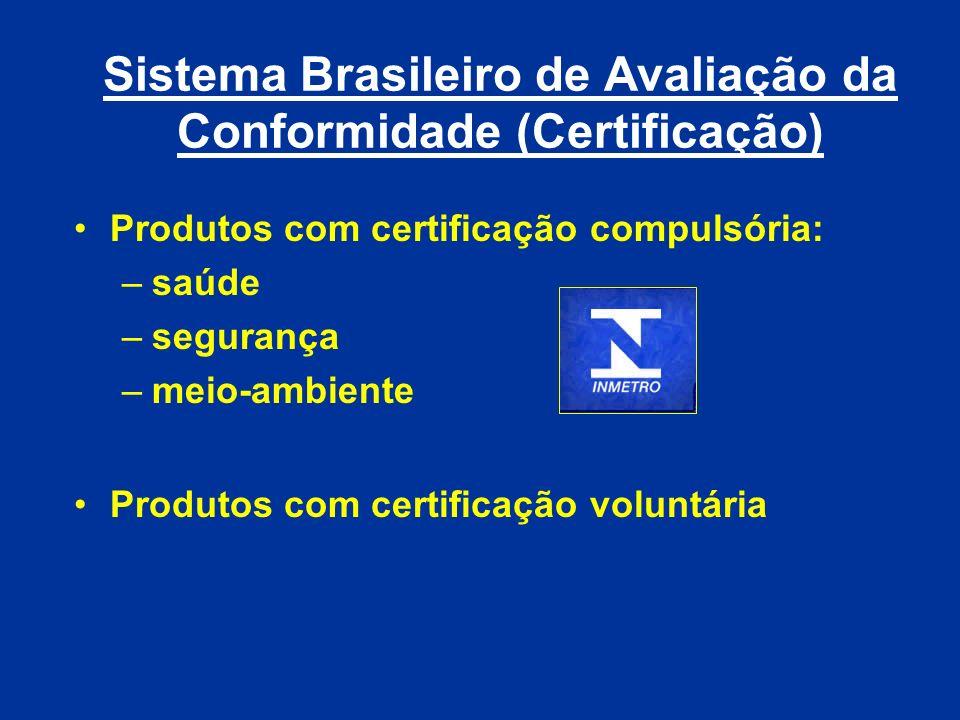 Sistema Brasileiro de Avaliação da Conformidade (Certificação)