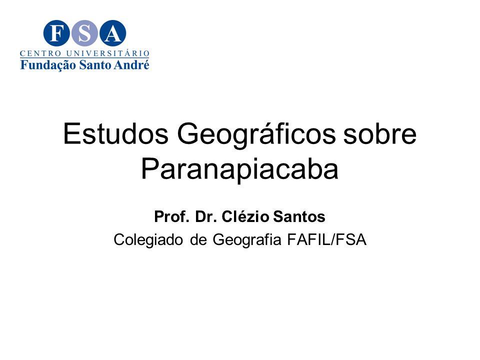 Estudos Geográficos sobre Paranapiacaba