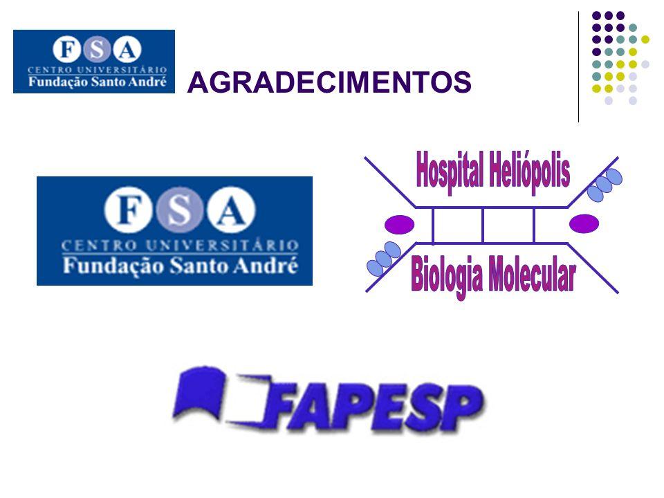 AGRADECIMENTOS Hospital Heliópolis Biologia Molecular