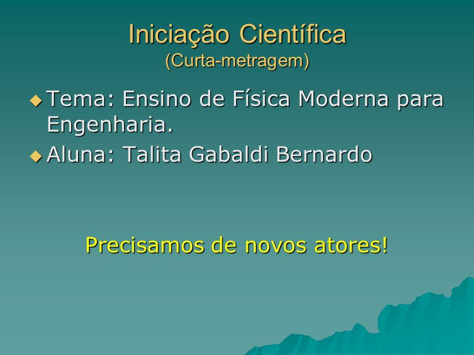 Iniciação Científica (Curta-metragem)