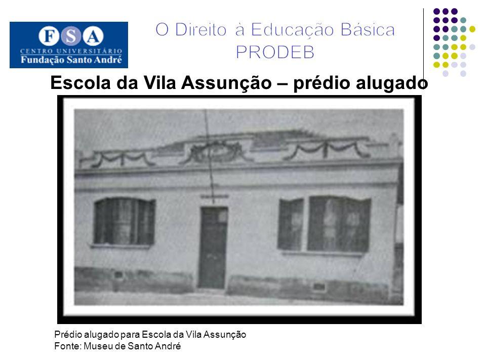 Escola da Vila Assunção – prédio alugado