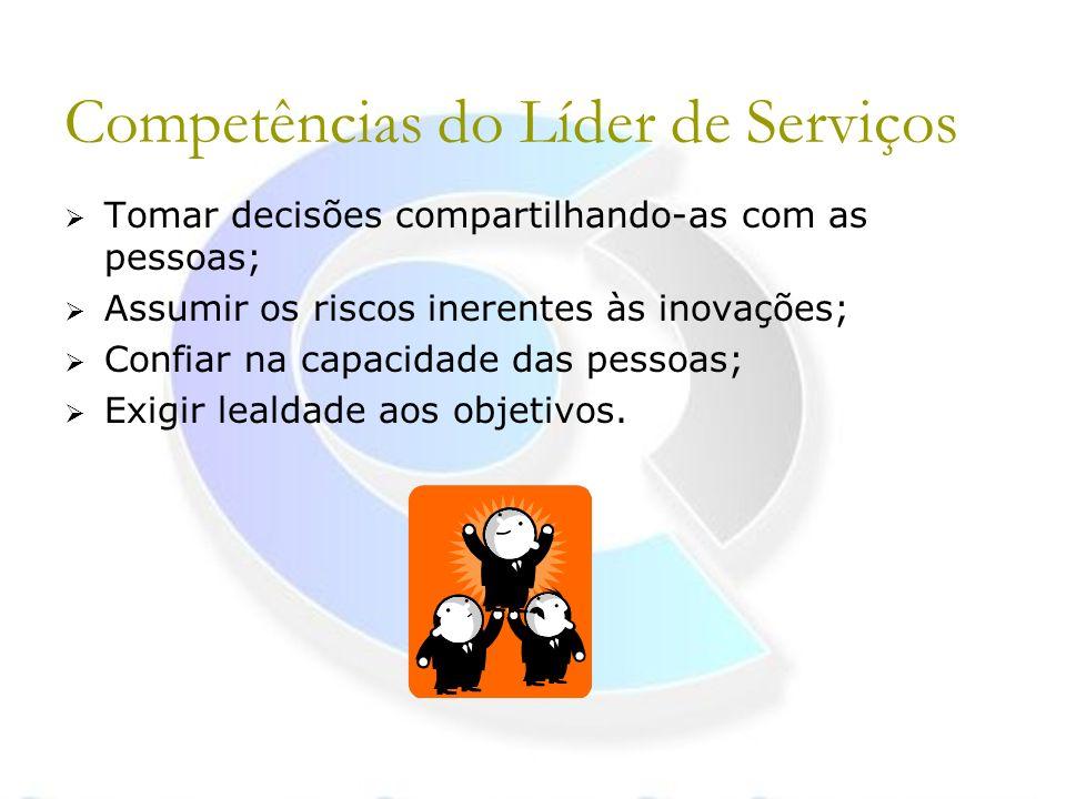 Competências do Líder de Serviços