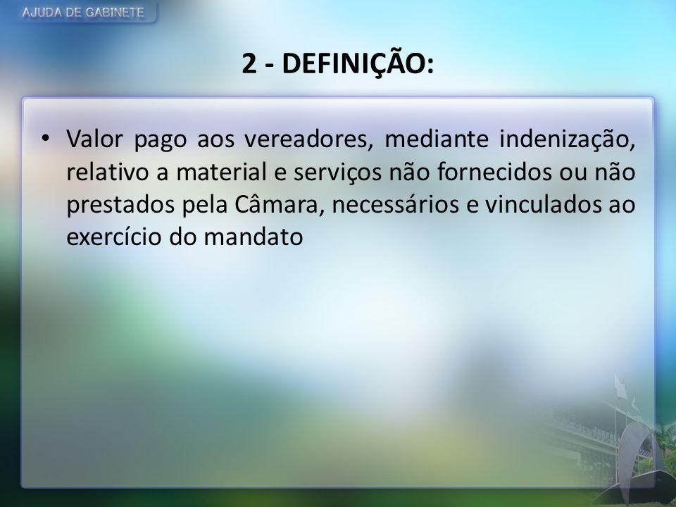 2 - DEFINIÇÃO: