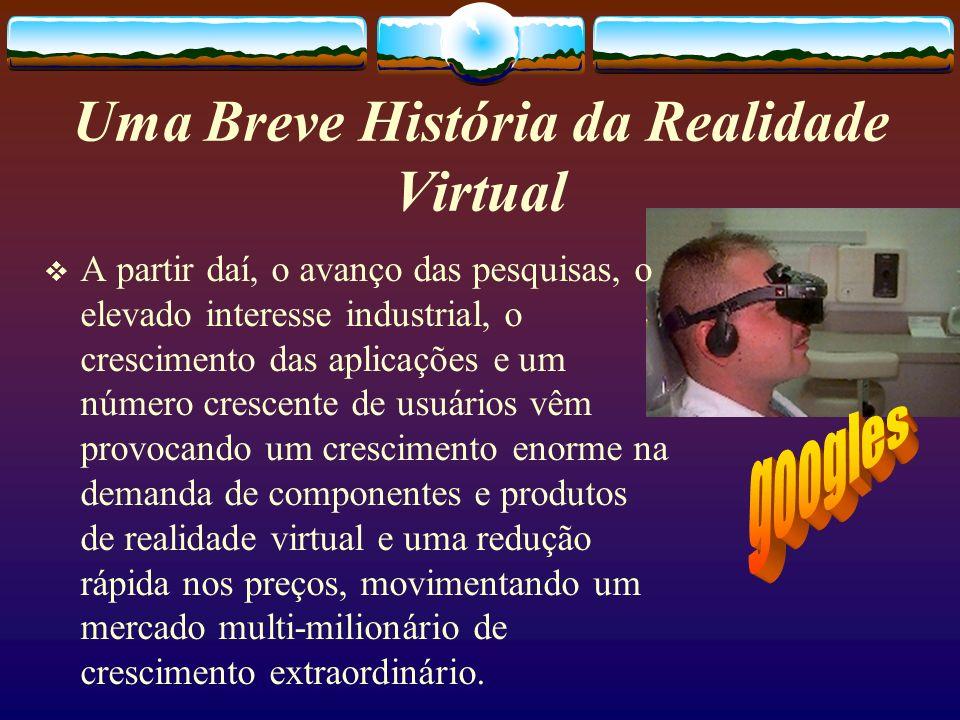Uma Breve História da Realidade Virtual
