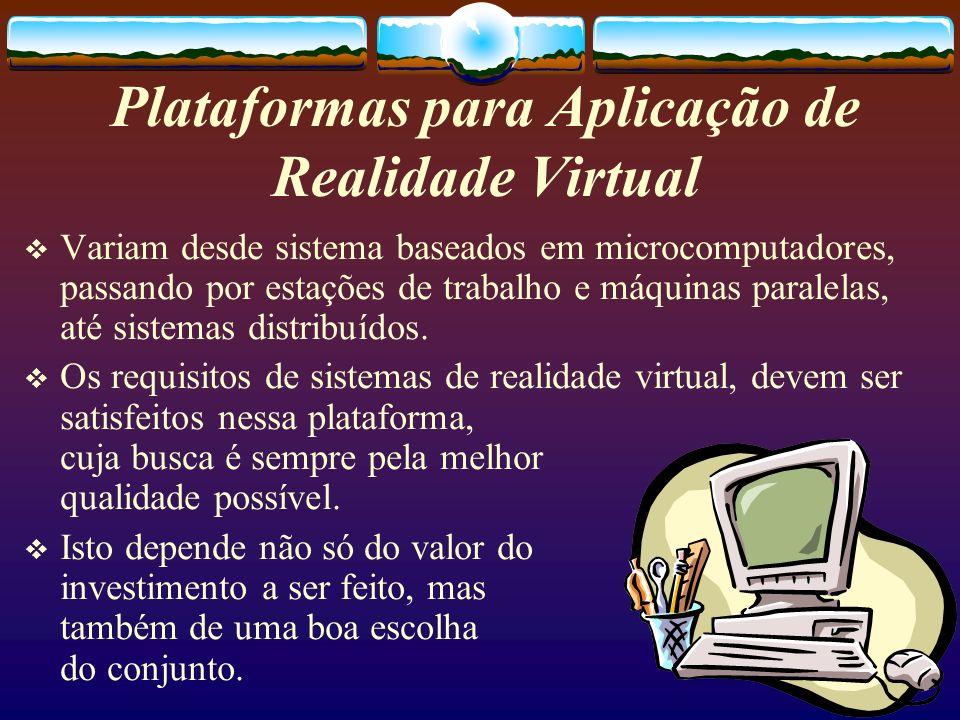 Plataformas para Aplicação de Realidade Virtual