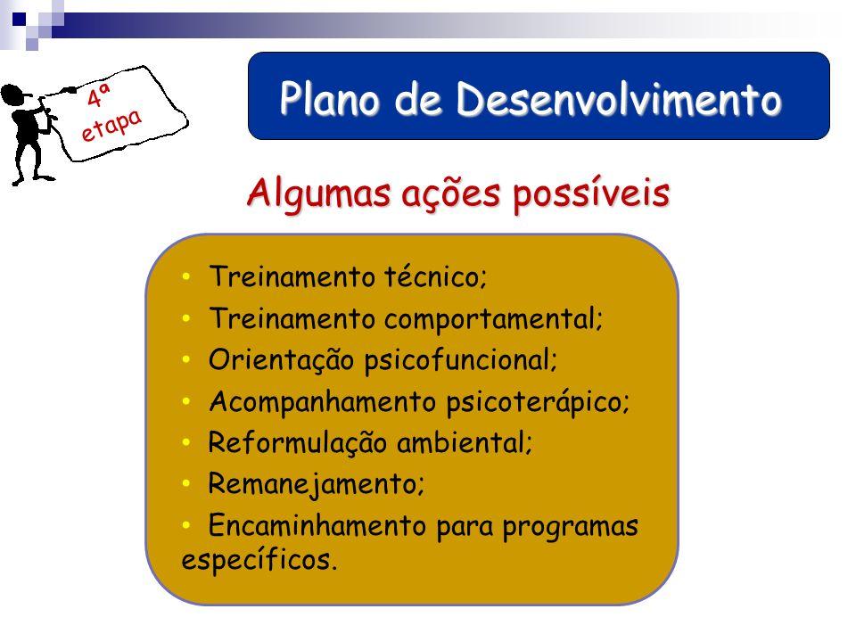Plano de Desenvolvimento