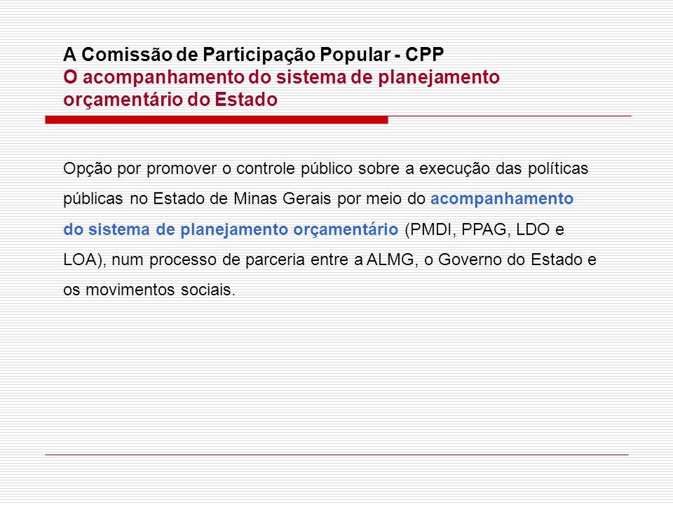 A Comissão de Participação Popular - CPP