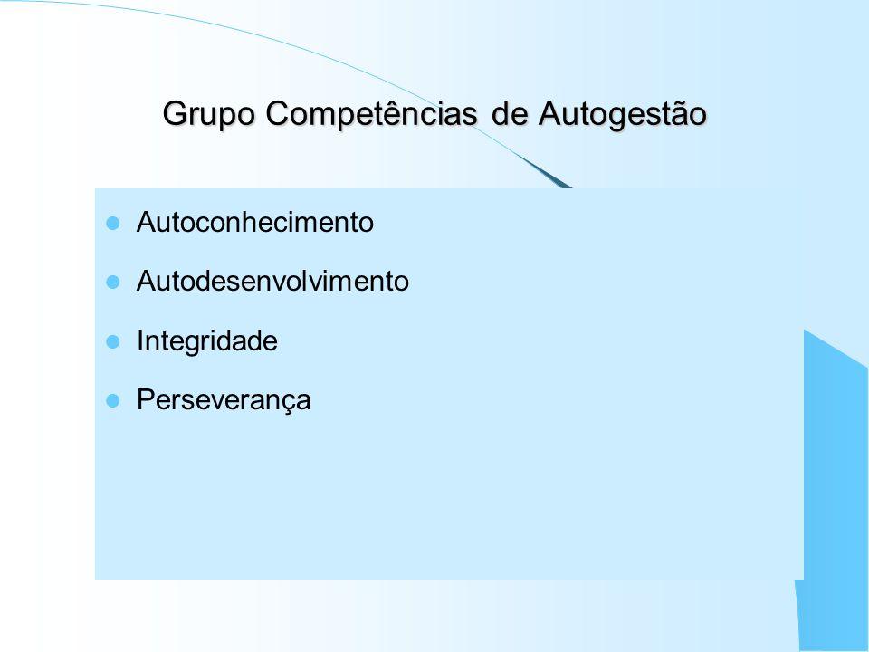 Grupo Competências de Autogestão
