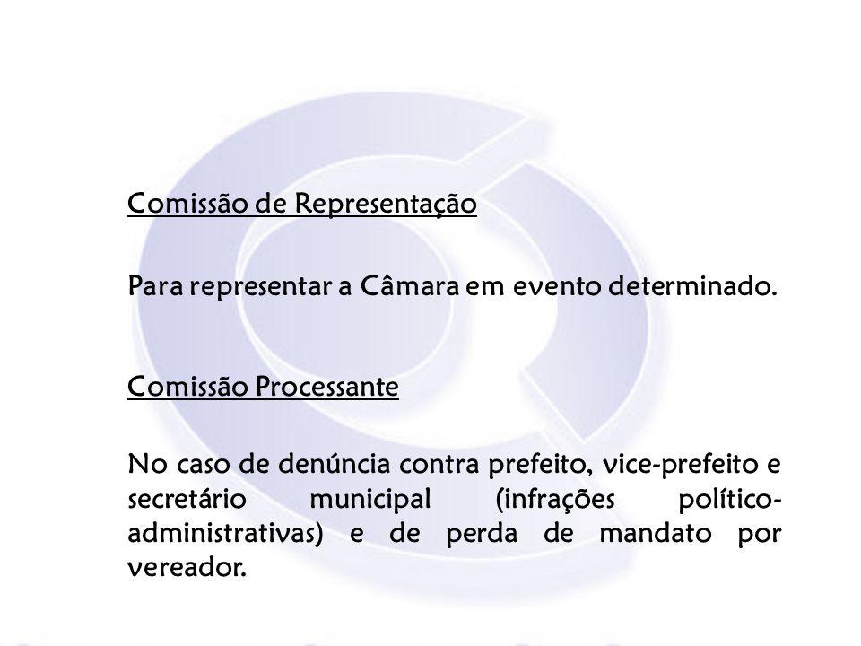 Comissão de Representação