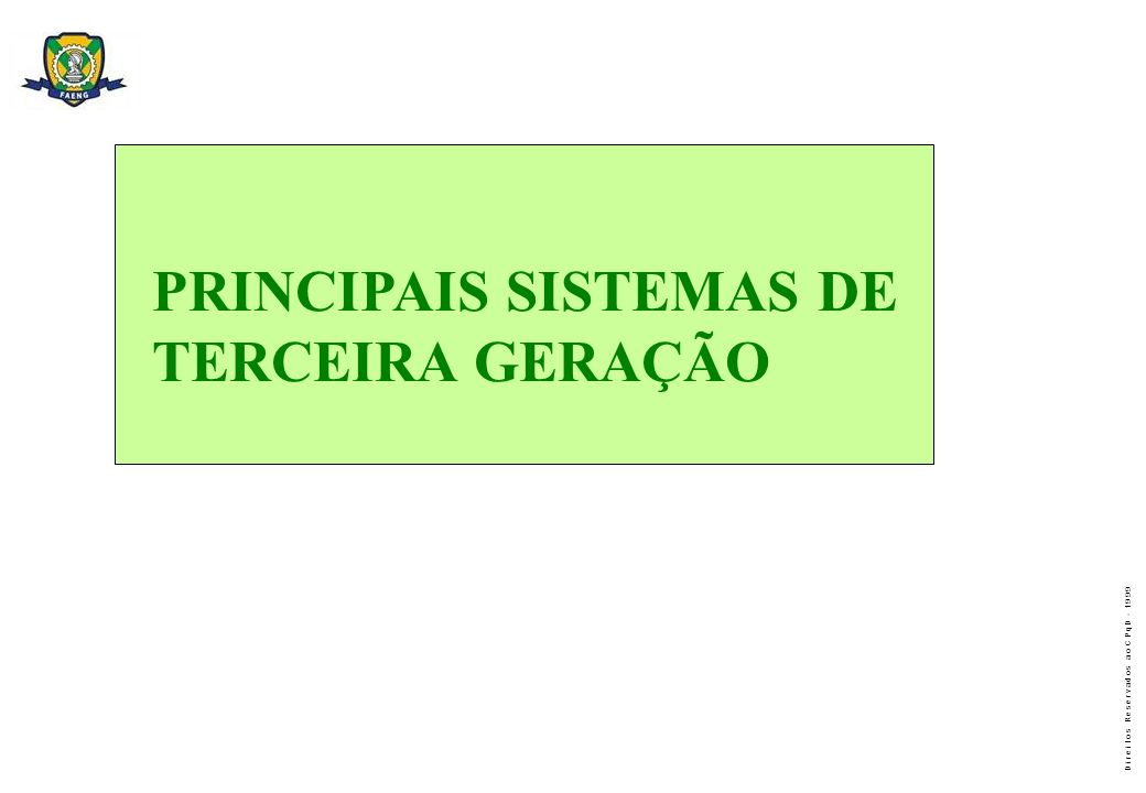 PRINCIPAIS SISTEMAS DE