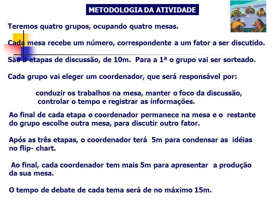 METODOLOGIA DA ATIVIDADE