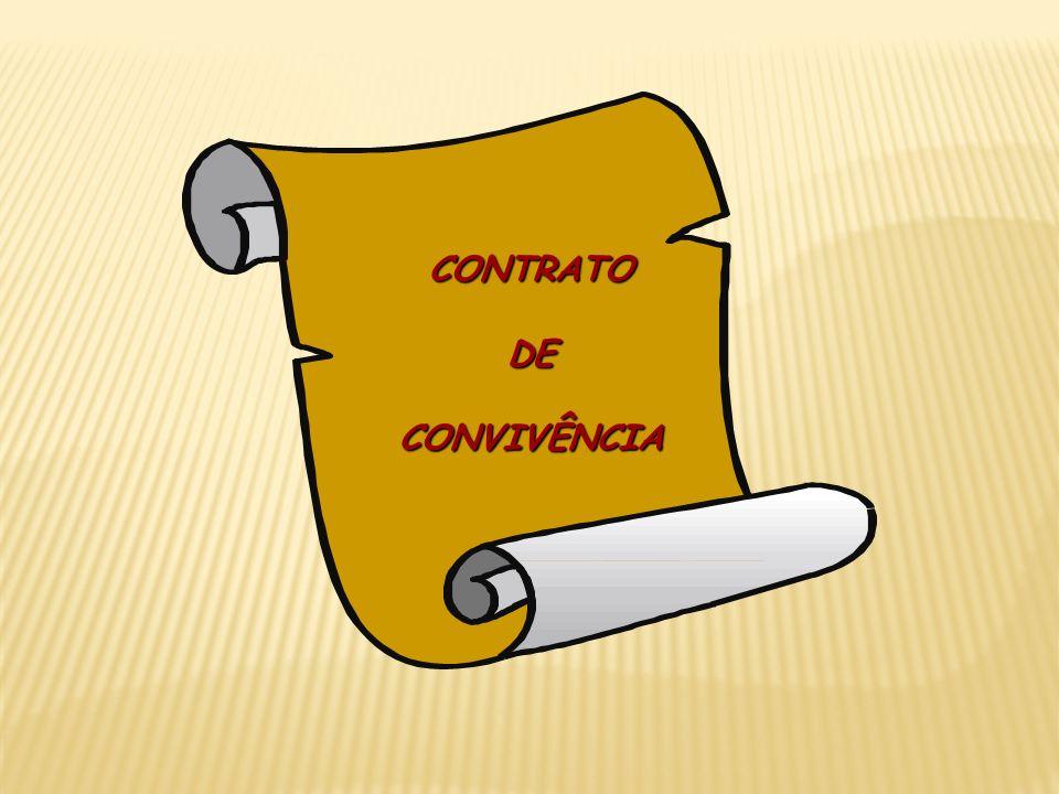 CONTRATO DE CONVIVÊNCIA
