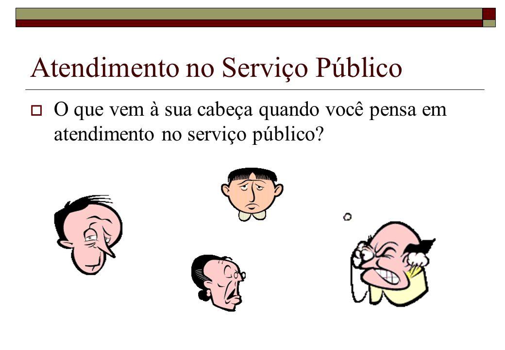 Atendimento no Serviço Público