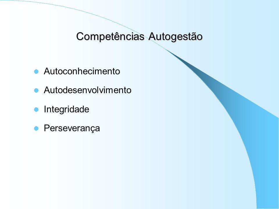 Competências Autogestão