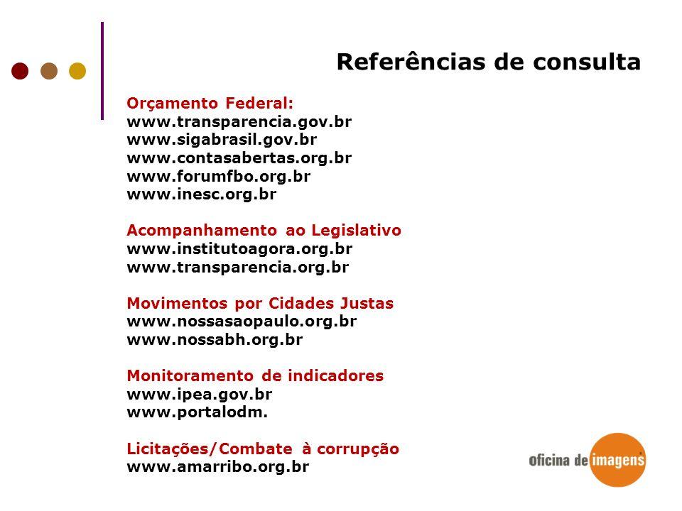 Referências de consulta