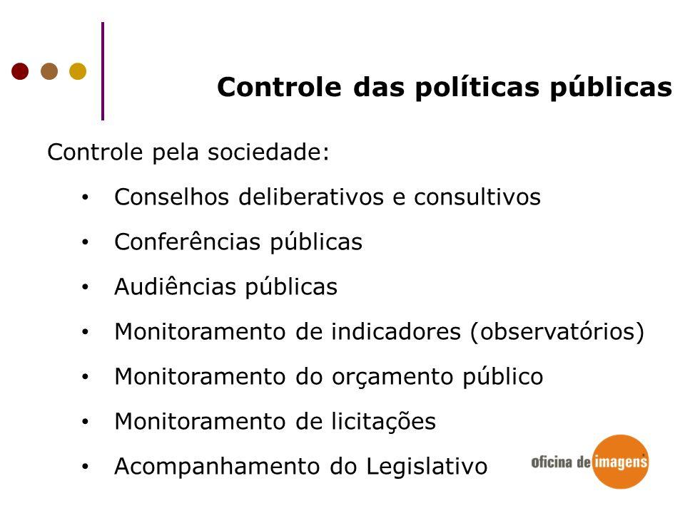 Controle das políticas públicas