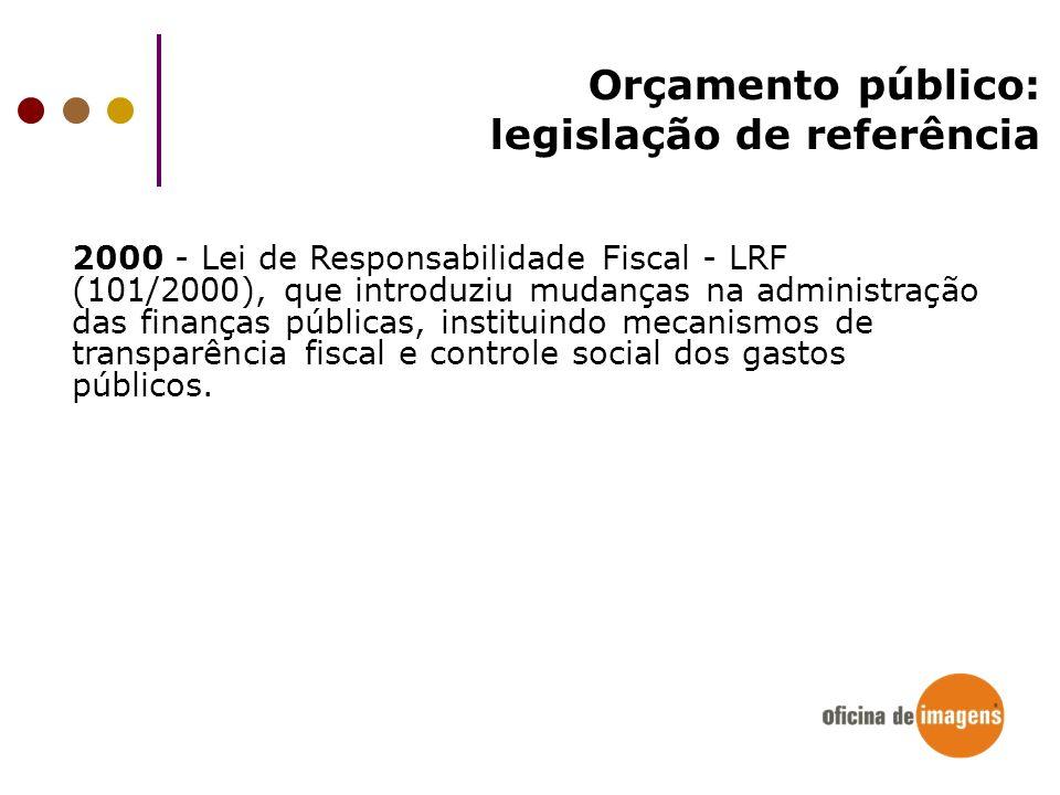 legislação de referência