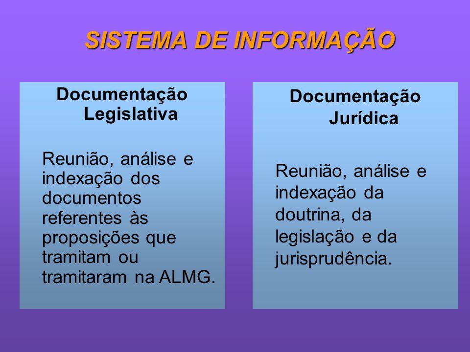 Documentação Legislativa Documentação Jurídica