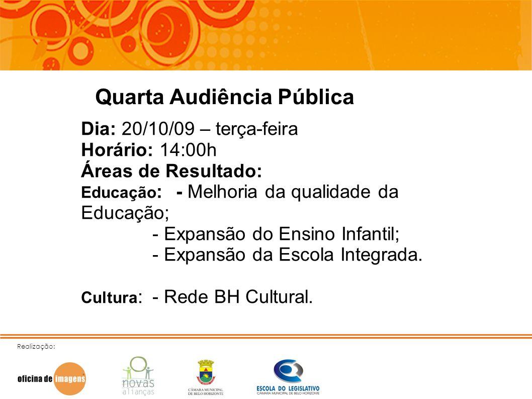 Quarta Audiência Pública