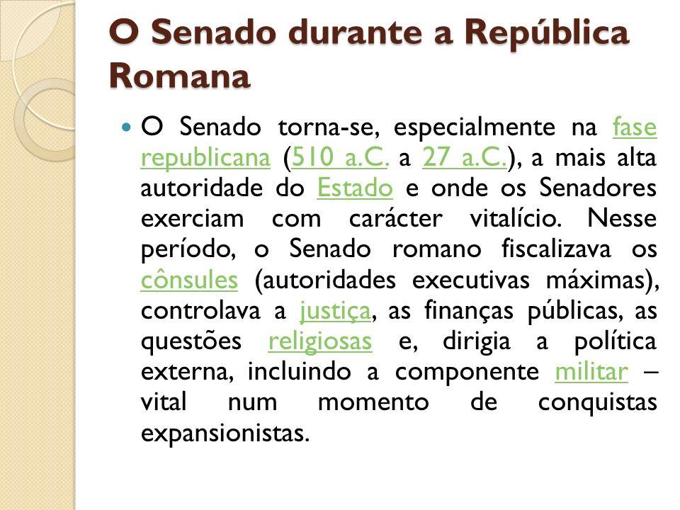 O Senado durante a República Romana