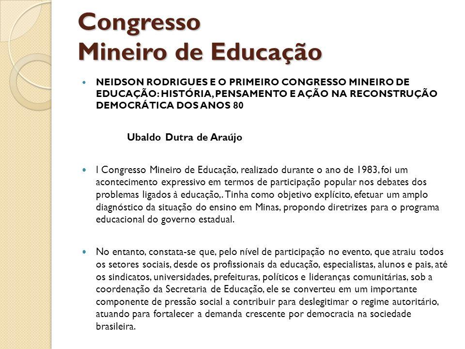 Congresso Mineiro de Educação