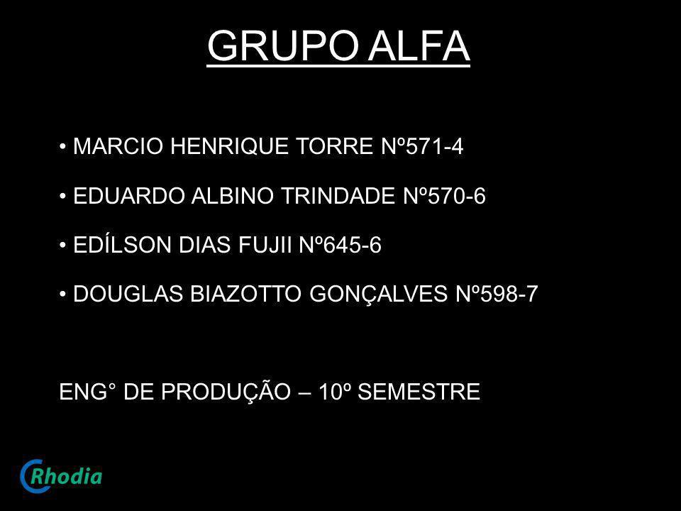 GRUPO ALFA MARCIO HENRIQUE TORRE Nº571-4